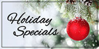 California Hotel Holiday Specials